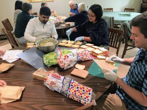 Sandwich Makers @ Green Lake United Methodist Church - Alden Hall